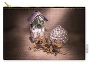 Birdhouse And Beehive 2 Carry-all Pouch