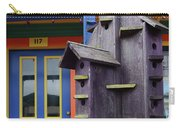 Birdhouses For Colorful Birds 2 Carry-all Pouch