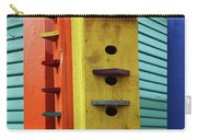 Birdhouses For Colorful Birds 6 Carry-all Pouch