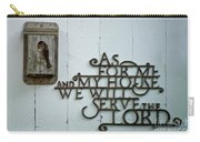 Birds And Bible Verse Carry-all Pouch