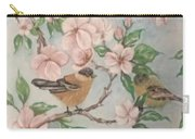 Birds And Blossoms Carry-all Pouch