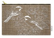 Birds And Burlap 2 Carry-all Pouch