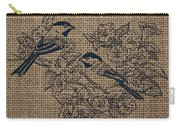 Birds And Burlap 1 Carry-all Pouch