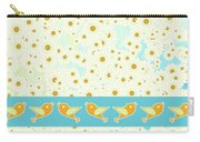 Birds And Daisies Carry-all Pouch