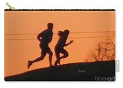 Birds And Fun At Butler Park Austin - Jogging - Sunset Run Carry-all Pouch