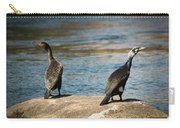 Birds And Lake Carry-all Pouch
