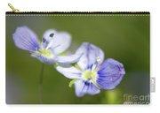 Birds Eye Speedwell Carry-all Pouch