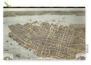 Birds Eye View Of Charleston Carry-all Pouch
