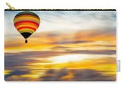 Birds Eye View Of Sunset Carry-all Pouch