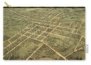Bird's Eye View Of The City Of Huntsville, Madison County, Alabama 1871 Carry-all Pouch