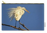 Birds - Great Egret Carry-all Pouch