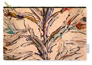 Birds In A Tree Carry-all Pouch