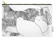 Birds In Pine Carry-all Pouch