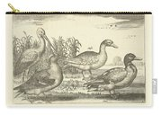 Birds In The Reeds, Adriaen Collaert, 1659 Carry-all Pouch