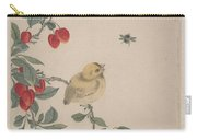 Birds Insects And Flowers Carry-all Pouch