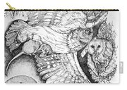 Birds Of Prey Collage One Carry-all Pouch