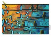 Birds Of Summer By Madart Carry-all Pouch