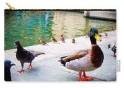 Birds Of The River Carry-all Pouch