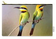 Birds On A Branch Carry-all Pouch