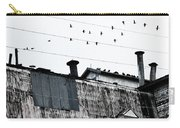 Birds On Grain Elevator Carry-all Pouch