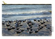 Birds On The Beach Carry-all Pouch