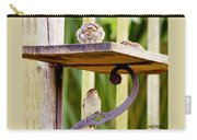 Birds On The Feeder Carry-all Pouch