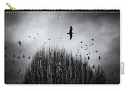 Birds Over Bush Carry-all Pouch