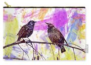 Birds Stare Nature Songbird  Carry-all Pouch