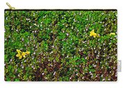 Birdsfoot Trefoil Surrounded By Tiny Bright Eyes In Campground In Saginaw-minnesota Carry-all Pouch