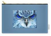 Birdwatch Blue Owl Carry-all Pouch