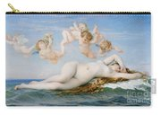 Birth Of Venus Carry-all Pouch by Alexandre Cabanel