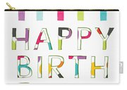 Birthday Candles- Art By Linda Woods Carry-all Pouch