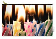 Birthday Candles Carry-all Pouch by Garry Gay