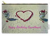 Birthday Card For Sweethearts Carry-all Pouch