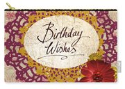 Birthday Wishes Carry-all Pouch