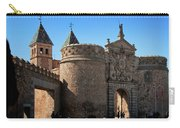 Bisagra Gate Toledo Spain Carry-all Pouch by Joan Carroll