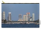 Biscayne Bay At Miami Yatch Club Carry-all Pouch