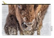 Bison Approaching  8163 Carry-all Pouch