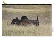Bison Backscratching Carry-all Pouch