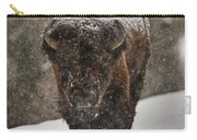 Bison Buffalo Wyoming Yellowstone Carry-all Pouch