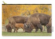 Bison Family Nation Carry-all Pouch