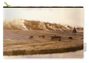 Bison Firehole River Yellowstone Carry-all Pouch