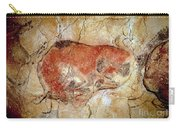 Bison From The Altamira Caves Carry-all Pouch
