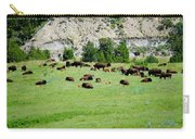Bison Herd II Carry-all Pouch