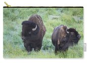 Bison In Love Iv Carry-all Pouch
