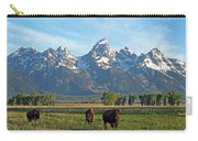 Bison Range Carry-all Pouch