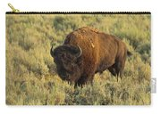 Bison Carry-all Pouch by Sebastian Musial