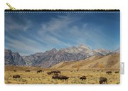 Bison The National Mammal Carry-all Pouch