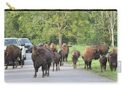 Bison Traffic Jam Carry-all Pouch