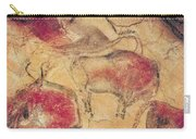 Bisons From The Caves At Altamira Carry-all Pouch by Prehistoric